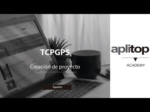 TcpGPS. Creación de proyecto