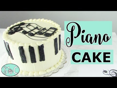 Tickling the Ivories with this PIANO CAKE Tutorial