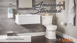 Watch Introducing the VorMax Plus Self-Cleaning Toilet - American Standard