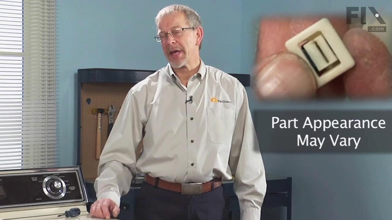Replacing your Maytag Dryer Door Catch Kit