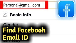 How to Find Facebook Email Address