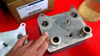 Oil Cooler 6.0 F250 04 powerstroke OEM vs. EBAY