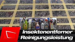 Insektenentferner Test 2020 - Reinigungsleistung - Welche Insektenentferner reinigen am besten?