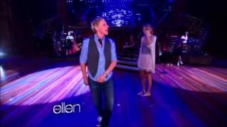 Ellen At Taylor Swift, Part 1 (LEGENDADO)