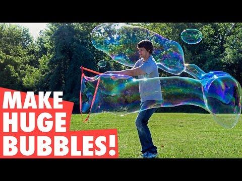 Make 35-foot long bubbles!