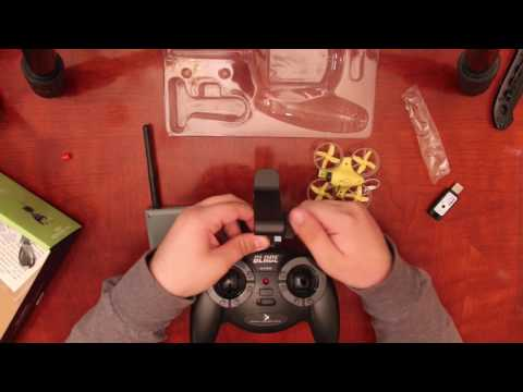 RTF Blade Inductrix, best beginner FPV indoor quad (with flight sample)
