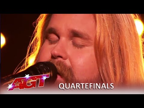 "Chris Kläfford: Swedish Singer Debuts Original Song ""Singing Hallelujah  America's Got Talent 2019"