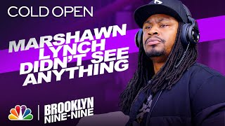 Cold Open: Marshawn Lynch Is a Terrible Witness - Brooklyn Nine-Nine