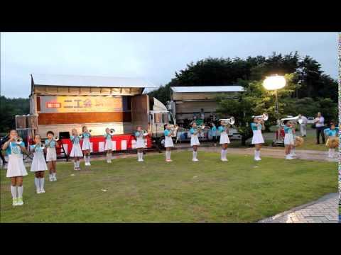 郡山市立喜久田小学校マーチングバンド in 二工会納涼祭
