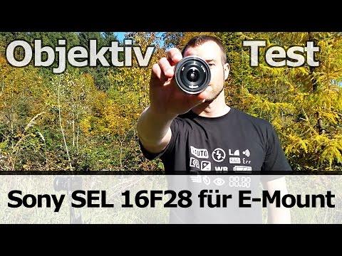 Objektiv-Test: Sony SEL 16F28 Pancake Weitwinkel (E-Mount)