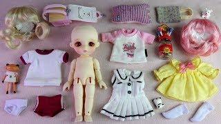 ★리나슈슈 베이비 데이지 개봉/포춘완다★LINA Chouchou Baby Daisy Unboxing/Ball Jointed Doll/Wander Frog/구관