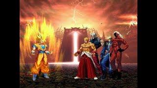 손오공의 정의구현 : 드래곤볼 손오공 vs KOF 악당들 : Son Goku vs The King of Fighters