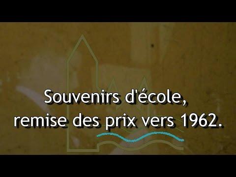 Video Souvenirs d'école,  remise des prix vers 1962