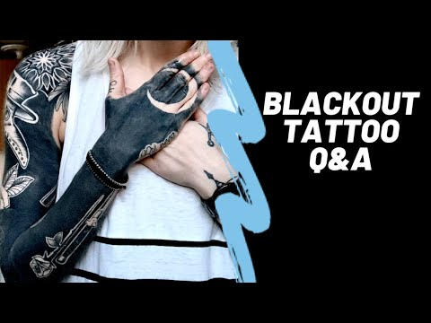 Download BLACKOUT TATTOO Q&A Mp4 HD Video and MP3