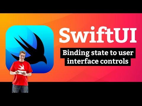 Binding state to user interface controls – WeSplit SwiftUI Tutorial  5/11 thumbnail