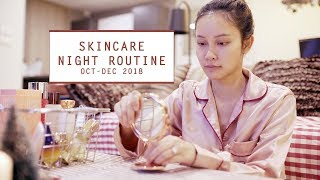 Skincare Night Routine Oct - Dec 2018 | JellyJune