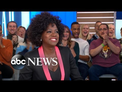 , title : 'Viola Davis says her daughter joined her on the set of 'Widows''