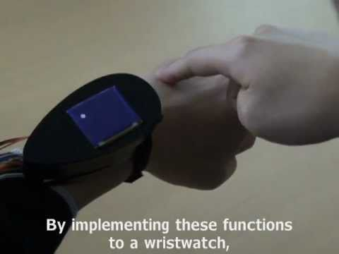 Back-of-the-Hand Touch Interface Is Perfect For Super Spies