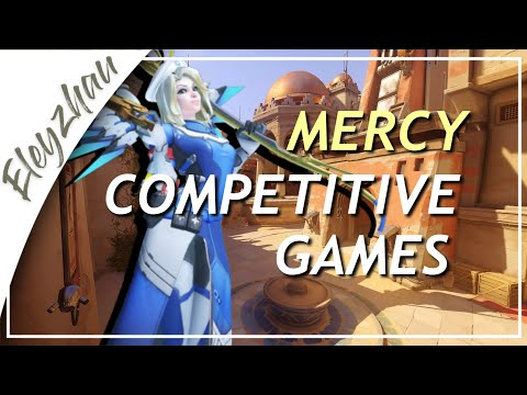 [Mercy Full Comp Games] Episode 26 (Temple of Anubis): Season 18 (Overwatch)