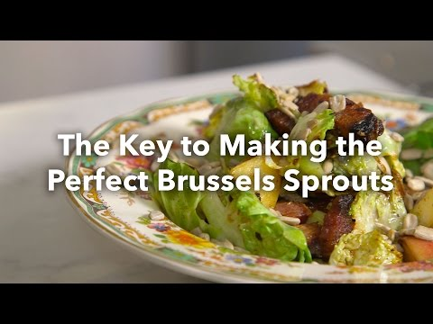 Hate Brussels Sprouts? Try This Recipe