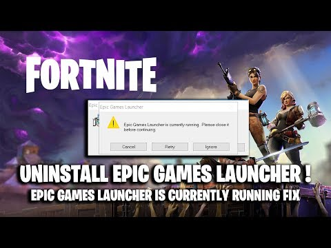 Download Epic Games Launcher Is Currently Running Fix Video 3GP Mp4