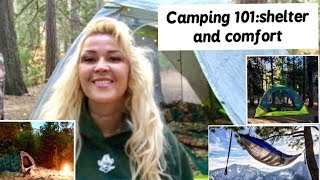 Camping 101: choosing a tent and tips on making your camping more comfortable