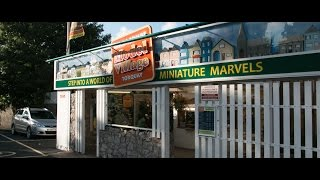 preview picture of video 'babbacombe model village, torquay, august 2014'