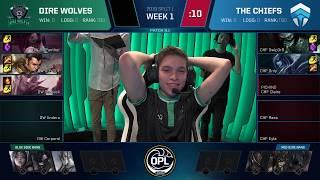 OPL 2019 - Split 1 Week 1 Game 4 - DW vs. CHF