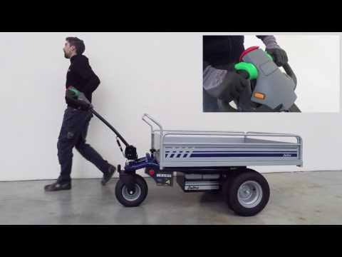 Zallys HT, elektrischer Handwagen, Bollerwagen mit Motor,