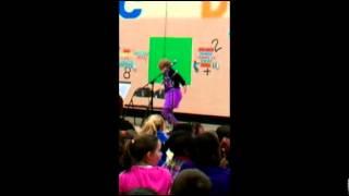 Meghan McCarty, 9, wins Dogwood Elementary spelling bee