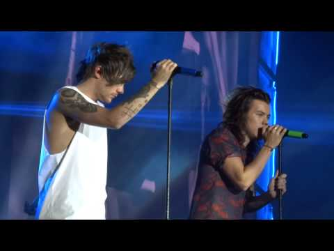 One Direction - Little Things - OTRA June 6th, Cardiff - LARRY FOCUSED (видео)
