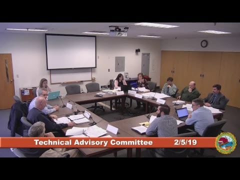 Technical Advisory Committee 2.5.2019