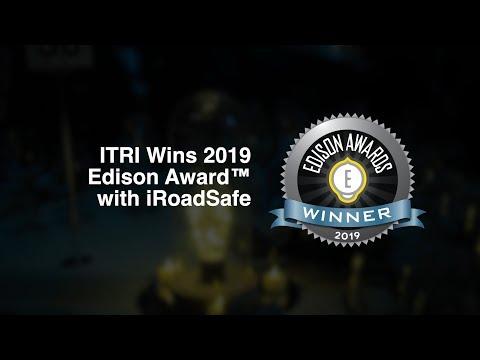 ITRI Wins 2019 Edison Award with iRoadSafe