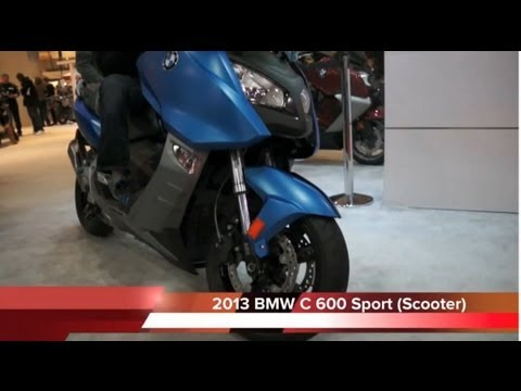 2013 BMW C600 SPORT C650 GT Scooter – Review NYC EXPO