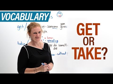 What's the difference between GET & TAKE?