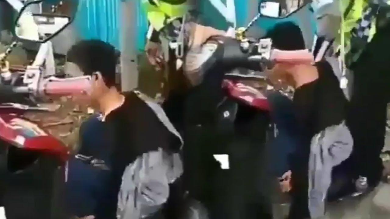 Viral Seorang Pemuda Pukul Polisi Gara-gara Tak Mau Ditilang, Tak Berkutik saat Diamankan