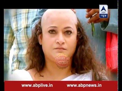 Yeh Vaada Raha : Taai goes bald infront of Karthik