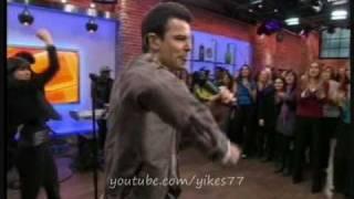 """NKOTB - Jordan performing """"Let's Go Higher"""" on the Marilyn Denis show 03.10.2011"""