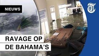 Zo groot is orkaanschade op de Bahama's