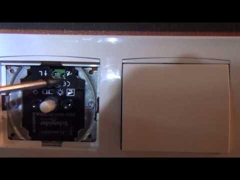 Проверка и ремонт регулируемого выключателя света