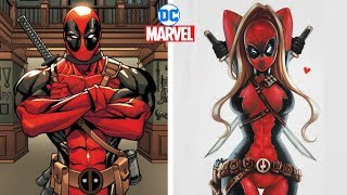 Marvel & Dc Characters Gender Swap Version