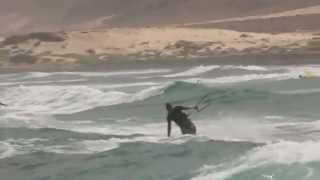 preview picture of video 'Boa Vista Kiteboarding and kitesurfing trip, Cape Verde Islands.'
