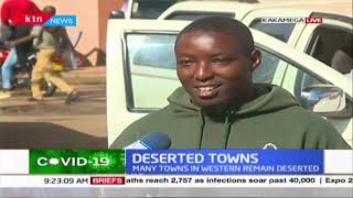 Western Kenya towns remain deserted