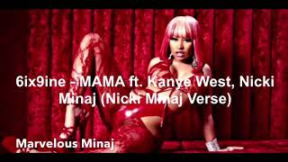 6ix9ine   MAMA Ft. Kanye West, Nicki Minaj (Nicki Minaj Verse)