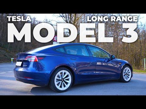 TESLA Model 3 Long Range Facelift 2021 Review