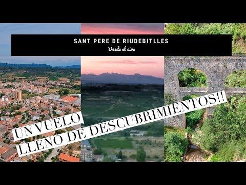 Sant Pere de Riudebitlles 😍, descubriendo desde el aire 😎 unos rincones del pueblo 👏🏼👏🏼😍😍