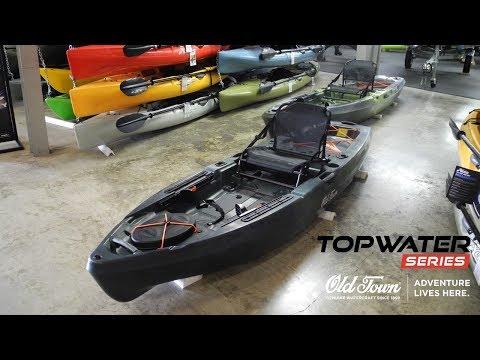 NEW Old Town Topwater 106 Fishing Kayak! Full Walkthrough of