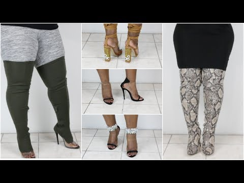 PUBLIC DESIRE SHOE TRY ON HAUL