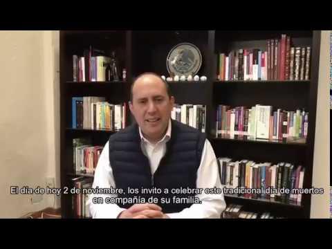 Fernando Manzanilla Prieto - Mensaje de Día de Muertos