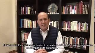 Fernando Manzanilla Prieto – Mensaje de Día de Muertos